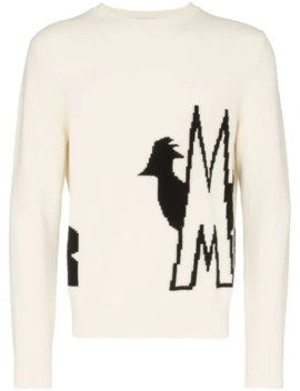 Logo Intarsia Jumper by Moncler