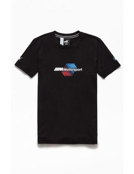 Puma X Bmw Black Motorsport Logo T Shirt by Pacsun