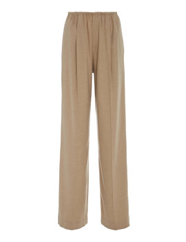 Brushed Twill Wide Leg Pants by Vince