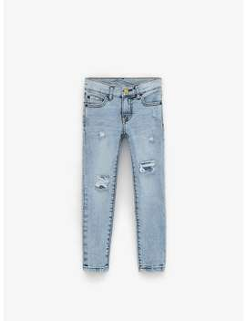 Destroyed Skinny Jeans  Jeansboy by Zara