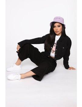Tracy Cargo Jacket   Black by Fashion Nova