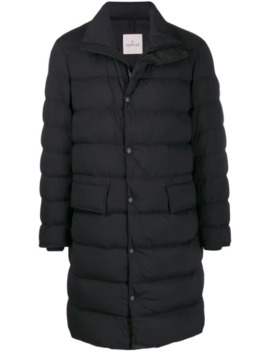 Padded Mid Length Coat by Moncler