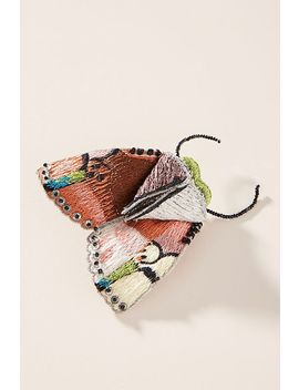 Mignonne Gavigan Moth Brooch by Mignonne Gavigan