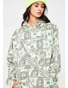 Money Bags Graphic Hoodie by Ripndip