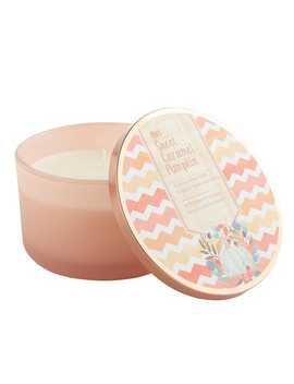 Filled 3 Wick Candle by Sweet Caramel Pumpkin Collection
