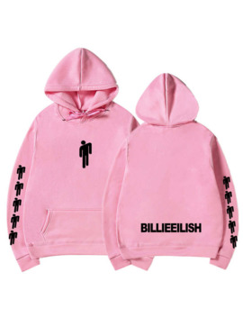 Billie Eilish Fashion Printed Hoodies Women/Men Long Sleeve Hooded Sweatshirts 2019 Hot Sale Casual Trendy Streetwear Hoodies by Ali Express