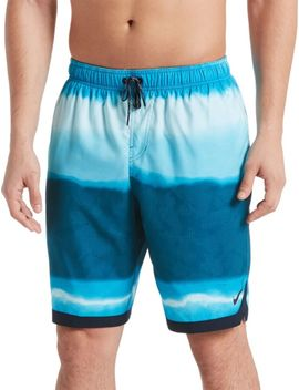 Nike Men's Optic Halo Horizon Swim Trunks by Nike