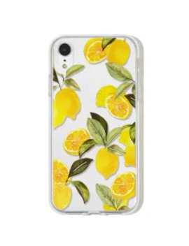 Fruit Lemon Phone Case For Iphone   Mustard Xr by Zaful