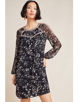 Estelle Embroidered Floral Tunic by Daniel Rainn