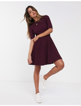 Ted Baker Renyina Knitted Skater Dress by Ted Baker