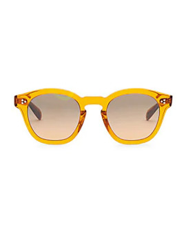 Boudreau La 48 Mm Square Sunglasses by Oliver Peoples