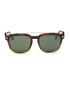 Holt 54 Mm Square Sunglasses by Tom Ford