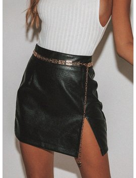 The Rizzo Mini Skirt by Princess Polly