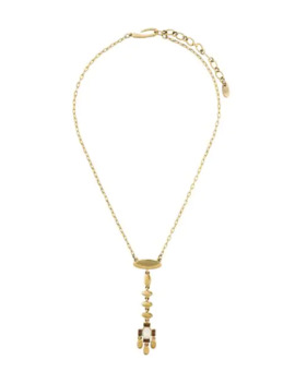 1980's Dangling Pendant Necklace by Givenchy Pre Owned