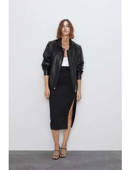 Midi Pencil Skirt View All Skirts Woman by Zara