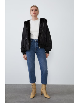 Reversible Bomber Jacket Jacketswoman by Zara