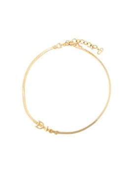 1990s Dior Lettering Choker by Christian Dior Pre Owned
