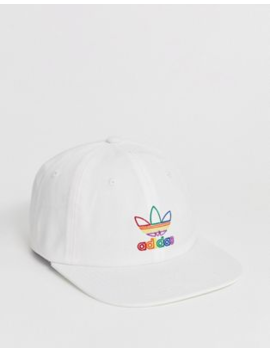 Adidas Originals Cap With Rainbow Logo Pride Limited Edition by Adidas Originals
