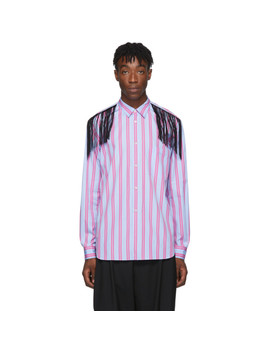 Pink Fringed Shirt by Comme Des GarÇons Homme Plus
