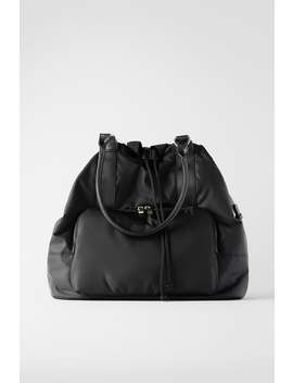 Xl Nylon Tote Bag View All Bags Woman by Zara