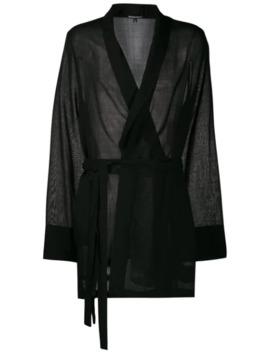 Belted Wrap Style Kimono by Ann Demeulemeester
