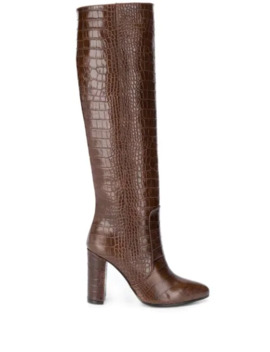 Embossed Tall Boots by Via Roma 15