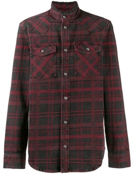 Checked Shirt by Balmain