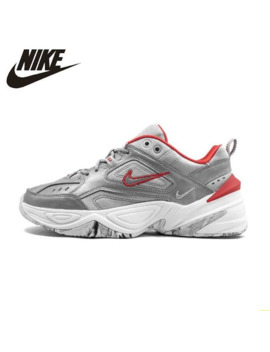 Nike W M2 K Tekno Woman Running Shoes Silver Grey Air Cushion Casual Shoes Comfortable Sneakers #Bq3378 001 by Ali Express