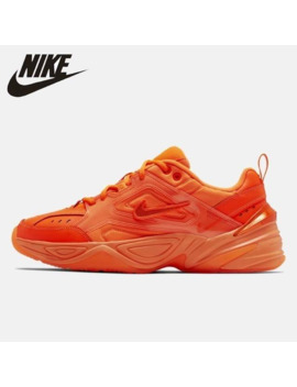 Nike M2k Tekno New Arrival Men Running Shoes Fluorescent Green Comfortable Purple Outdoor Sports Sneakers#Ci5749 555/777/888 by Ali Express