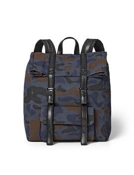 Camo Print Backpack   3.1 Phillip Lim For Target Blue/Brown by 3.1 Phillip Lim For Target Blue/Brown