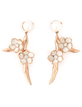 'cherry Blossom' Diamond Earrings by Shaun Leane