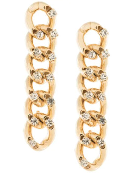 Chain Drop Earrings by Rosantica