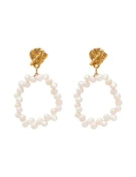 Apollo's Story Pearl Earrings by Alighieri