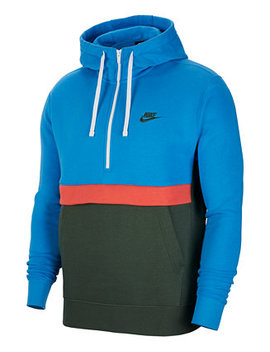 Men's Club Fleece Colorblocked Half Zip Hoodie by General
