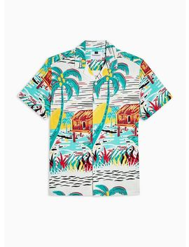 Hawaiian Huts Revere Shirt by Topman
