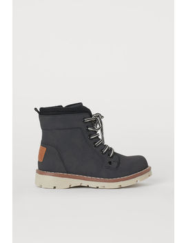 Zip Up Boots by H&M