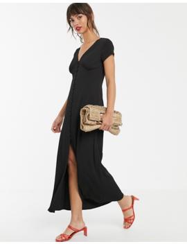 Vero Moda   Robe Longue Boutonnée by Vero Moda