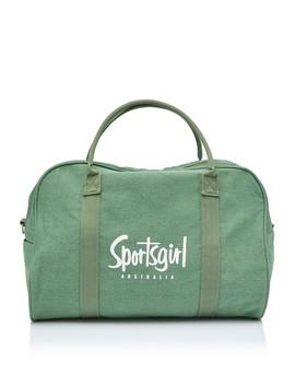 Khaki Duffle Bag by Sportsgirl