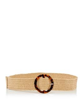Woven Tort O Ring Belt by Sportsgirl