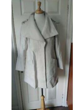Reiss Fabian Cream Wool Blend Coat Size S *Bnwt* Rrp £295 by Ebay Seller
