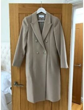 New Reiss Camel Double Breasted Coat Hobbs by Ebay Seller