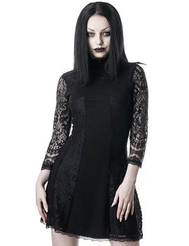 Crossed Over | Lace Dress by Killstar