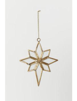 Decoração Natal Forma Estrela by H&M