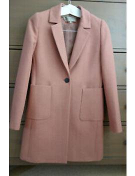 Uk 8 Hobbs Camellia Pink Casual Coat Blazer   Immaculate by Ebay Seller