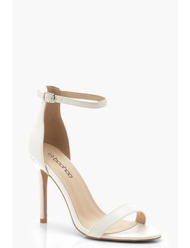 Basic 2 Part Heels by Boohoo