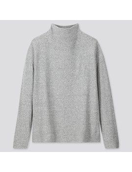 Camiseta Polar Cuello Alto Mujer by Uniqlo