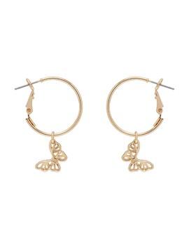 Butterfly Sleeper Earrings by Sportsgirl