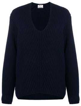 свитер 'deborah' с V образным вырезом by Acne Studios