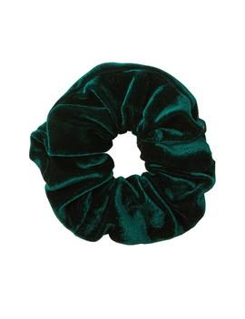 Green Velvet Scrunchie by Sportsgirl
