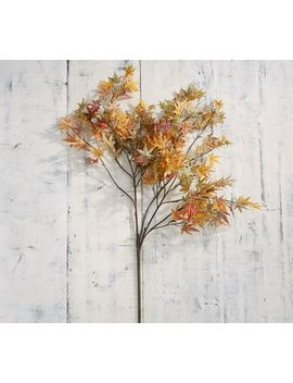 Faux Maple Leaf Branch by Pottery Barn